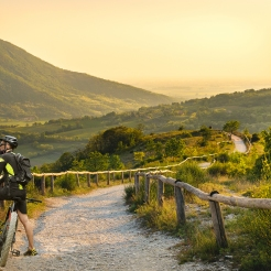Foto Venda con ciclista